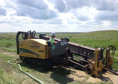 Extreme Underground Employee Utilizing Directional Drilling