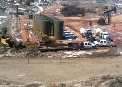 Extreme Underground Installing Utilities at a Job Site